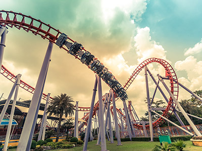 Pick up and Drop off for Theme Parks
